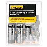 image of Halfords Skoda Brilliant Silver Scratch & Chip Repair Kit