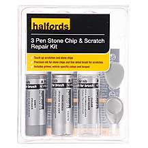 image of Halfords Mercedes Iridium Silver Scratch & Chip Repair Kit