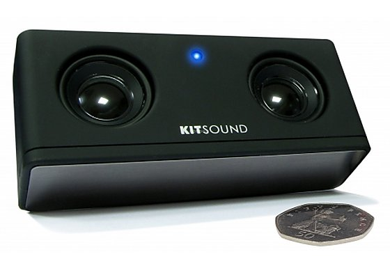 Kitsound Mini Boombar Portable Speaker