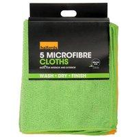 Halfords Microfibre Cloths 5 Pack
