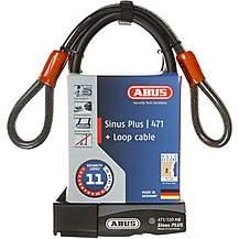 Abus Sinus Plus D-Lock & Cable Set