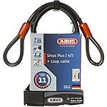 image of Abus Sinus Plus D-Lock & Cable Set