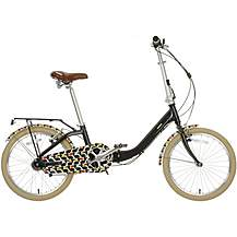 image of Olive and Orange by Orla Kiely Womens Folding Bike