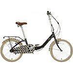image of Olive and Orange by Orla Kiely Womens Folding Bike