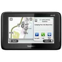 TomTom GO LIVE Camper & Caravan Sat Nav - UK, ROI & Europe with Lifetime TomTom Traffic & Maps