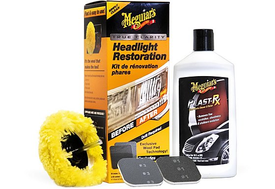 Meguiar's One Step Headlight Restoration Kit