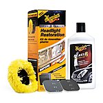 image of Meguiars One Step Headlight Restoration Kit