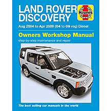 image of Haynes Land Rover Discovery Diesel (Aug 04- 09 Apr) Manual