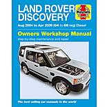 Haynes Land Rover Discovery Diesel (Aug 04- 09 Apr) Manual