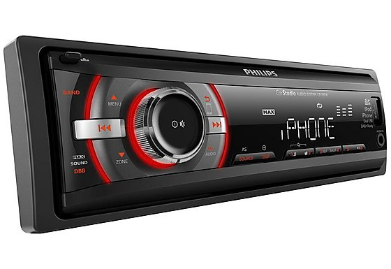 Philips CE139DR Refurb iPhone & USB Car Stereo