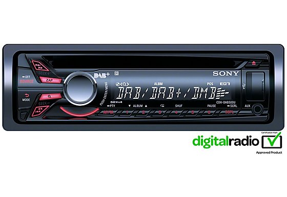Sony CDX-DAB500U DAB Car CD Player