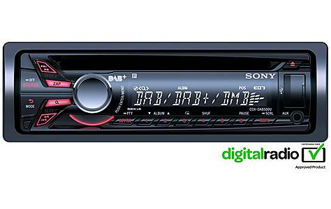 image of Sony CDX-DAB500U Car Stereo