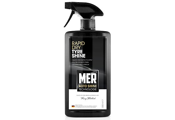 Mer Rapid Dry Tyre Shine 500ml