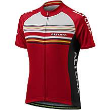 image of Altura Womens Strada 2 Short Sleeve Jersey - Red