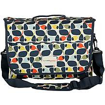 image of Olive and Orange by Orla Kiely Pannier Bag - Olive