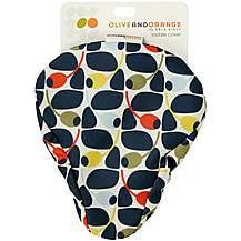 image of Olive and Orange by Orla Kiely Saddle Cover