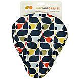 Olive and Orange by Orla Kiely Saddle Cover