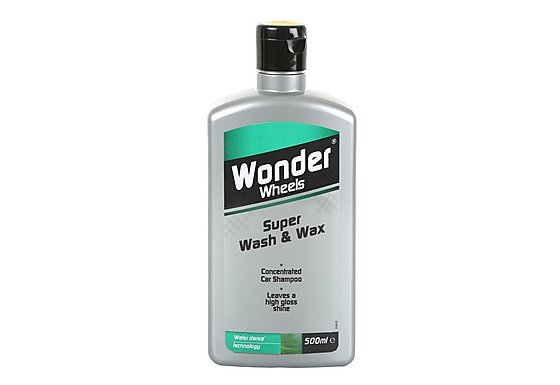 Wonder Wheels Super Wash & Wax 500ml