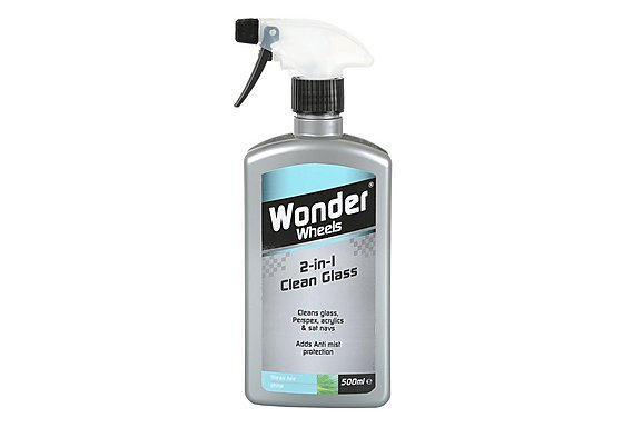Wonder Wheels 2 in 1 Clean Glass 500ml