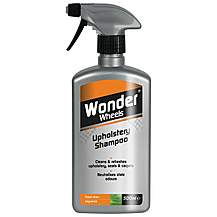 image of Wonder Wheels Upholstery Shampoo 500ml