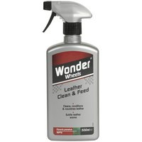 Wonder Wheels Leather Clean & Feed 500ml