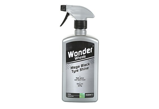 Wonder Wheels Mega Black Tyre Shine 500ml