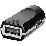 image of Halfords Single Slim USB Car Charger 2.1