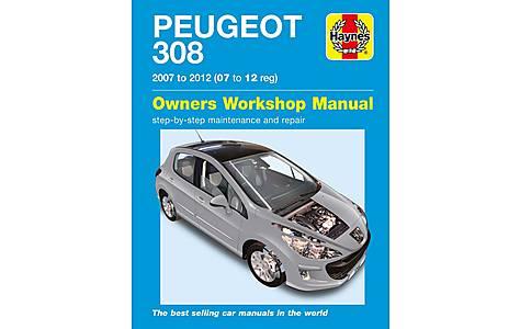 image of Haynes Peugeot 308 (07- 12) Manual