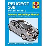 Haynes Peugeot 308 (07- 12) Manual