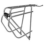 image of Tortec Epic Stainless Steel Rear Rack - Silver
