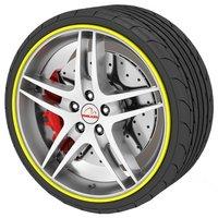 Rimblades Alloy Wheel Rim Protectors Yellow