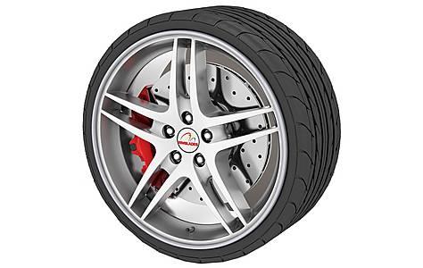 image of Rimblades Alloy Wheel Rim Protectors Silver