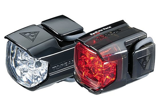 Topeak WhiteLite Race Combo Bike Light Set