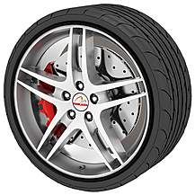 image of Rimblades Alloy Wheel Rim Protectors Black
