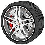Rimblades Alloy Wheel Rim Protectors Black