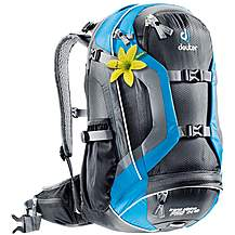 image of Deuter 2013 Trans Alpine Pro 24L SL Rucksack - Black and Turquoise