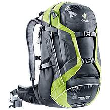 image of Deuter Trans Alpine Pro 28L Rucksack - Black and Kiwi