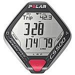 image of Polar CS500 + Cycle Computer - Black