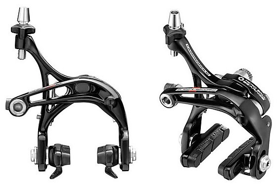 Campagnolo Super Record Skeleton Brake Callipers - Pair