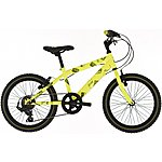 image of Raleigh Beatz 18in/11in Boys Bike 6sp Yellow