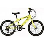 image of Raleigh Beatz 18in/11in Boys Bike 6sp Yellow