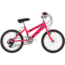 image of Raleigh Beatz Kids Bike - Pink, 18""