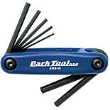 Park Tool AWS10C Fold-Up Hex Wrench Set 1.5mm to 6mm