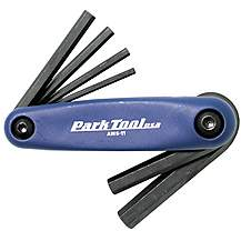 image of Park Tool AWS11C Fold-Up Hex Wrench Set: 3 to 6, 8 And 10mm