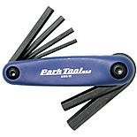 Park Tool AWS11C Fold-Up Hex Wrench Set: 3 to 6, 8 And 10mm