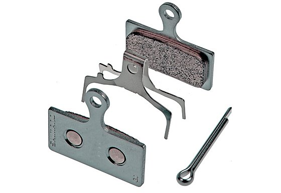 Shimano BR-M985 G01A Resin Disc Brake Pad and Spring