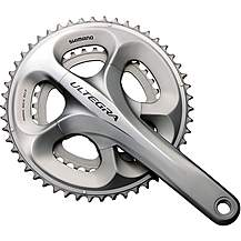 image of Shimano FC-6750 Ultegra 10-Speed Compact Chainset, 50 / 34T 172.5 mm, Grey