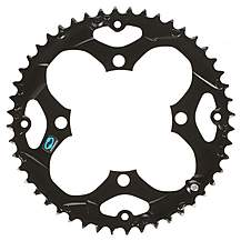image of Shimano FC-M411 Chainring 48T - Black