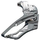 Shimano FD-3403 Sora 9-Speed Front Derailleur, Triple 28.6 / 31.8 mm, Silver