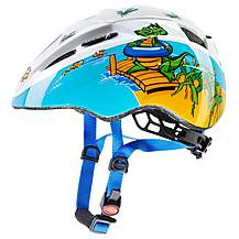 image of Uvex Kid 11 Helmet 46-52cm - Crocodile
